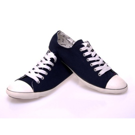 Sneakers With 123 Dark Blue Fabric navy 1