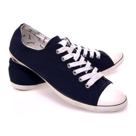 Sneakers With 123 Dark Blue Fabric navy 2