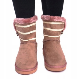 Czarne Eskimoski 89-67 Pink 1
