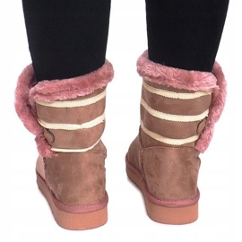 Czarne Eskimoski 89-67 Pink 3