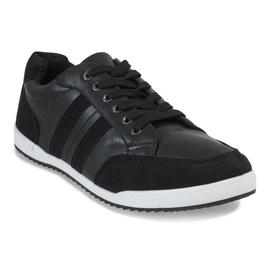 Black men's sneakers M-621 1