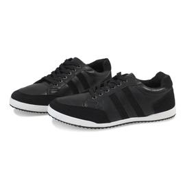 Black men's sneakers M-621 2