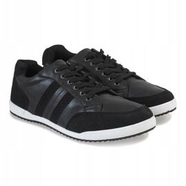 Black men's sneakers M-621 3