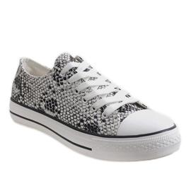 White men's sneakers BKA-9 1