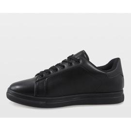 Black men's sneakers D20533 3