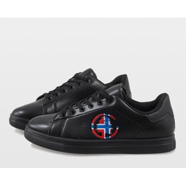 Black men's sneakers D20533 5