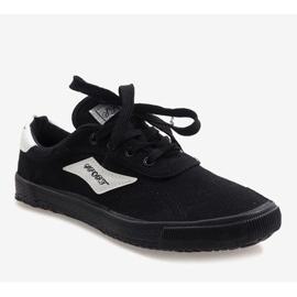 Black men's sneakers HW01 1