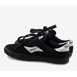 Black men's sneakers HW01 3