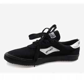Black men's sneakers HW01 5