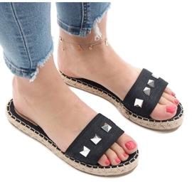 Black flip jeans studs 7087 2