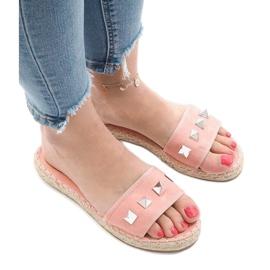 Pink flip jeans studs 7087 1