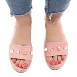 Pink flip jeans studs 7087 2