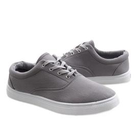 Gray men's sneakers QF-10 grey 4