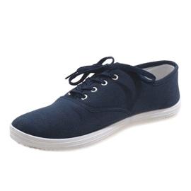 Navy men's sneakers SR13103 2