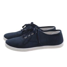 Navy men's sneakers SR13103 3