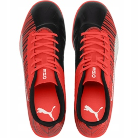 Football boots Puma One 5.4 It Jr 105654 01 red red 1