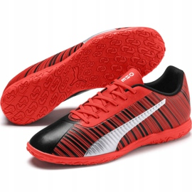 Football boots Puma One 5.4 It Jr 105654 01 red red 3