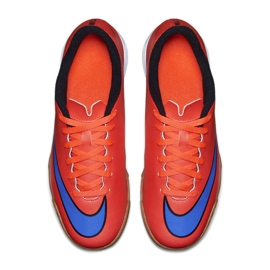 Football shoes Nike Mercurial Vortex Ii Ic Jr 651643-650 red red 2