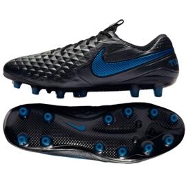 fuente Hazlo pesado Eso  Football boots Nike Tiempo Legend 8 Elite AG-Pro M BQ2696-004 black black -  ButyModne.pl