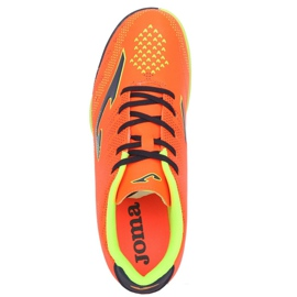 Football boots Joma Champion 908 Tf JR CHAJW.908.TF black, multicolor orange 3