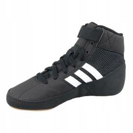 Shoes adidas Havoc K Jr AQ3327 black 1