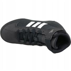 Shoes adidas Havoc K Jr AQ3327 black 2