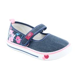 American Club Sneakers sneakers with Velcro TEN15 blue 1
