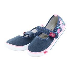 American Club Sneakers sneakers with Velcro TEN15 blue 2