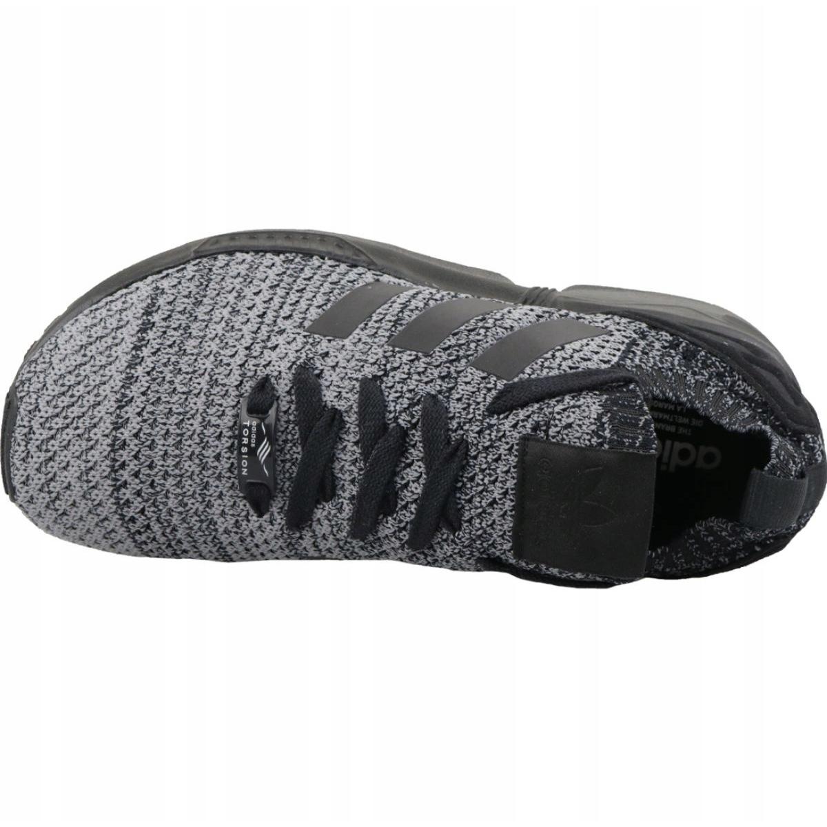 brand new ee5f0 a1aab Black Adidas Originals Zx Flux Primeknit M BZ0562 shoes