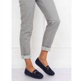 Loafers for women blue L7183 Blue navy 4