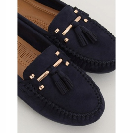 Loafers for women blue L7183 Blue navy 1