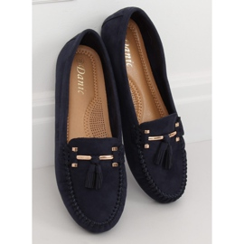 Loafers for women blue L7183 Blue navy 2