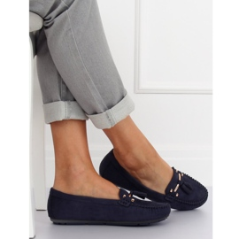 Loafers for women blue L7183 Blue navy 3