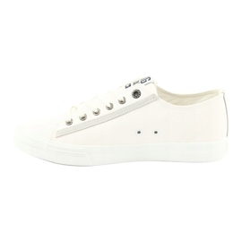 Big star half-boots white 174074 blue 1