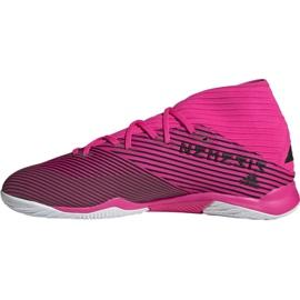 Football boots adidas Nemeziz 19.3 In M F34411 pink black grey 1