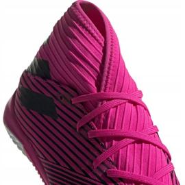 Football boots adidas Nemeziz 19.3 In M F34411 pink black grey 3