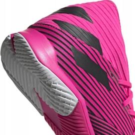 Football boots adidas Nemeziz 19.3 In M F34411 pink black grey 4