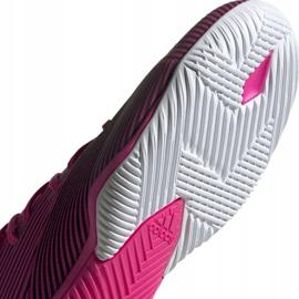Football boots adidas Nemeziz 19.3 In M F34411 pink black grey 5