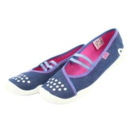 Befado children's shoes 116Y253 navy blue 4