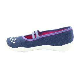 Befado children's shoes 116Y253 navy blue 3