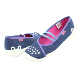 Befado children's shoes 116Y253 navy blue 5