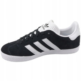 Adidas Gazelle Jr BB2502 shoes black 1
