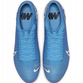 Nike Mercurial Vapor 13 Pro Fg M AT7901 414 Football Shoes. Blue 1
