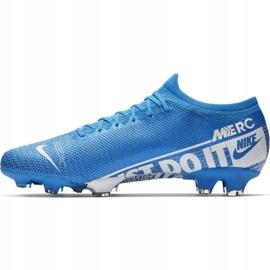 Nike Mercurial Vapor 13 Pro Fg M AT7901 414 Football Shoes. Blue 2