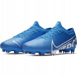 Nike Mercurial Vapor 13 Pro Fg M AT7901 414 Football Shoes. Blue 3