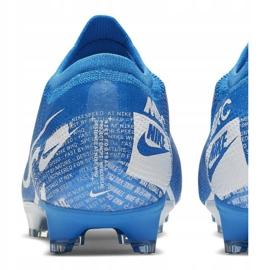 Nike Mercurial Vapor 13 Pro Fg M AT7901 414 Football Shoes. Blue 4