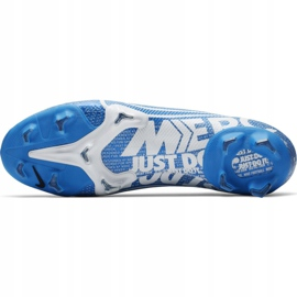 Nike Mercurial Vapor 13 Pro Fg M AT7901 414 Football Shoes. Blue 6