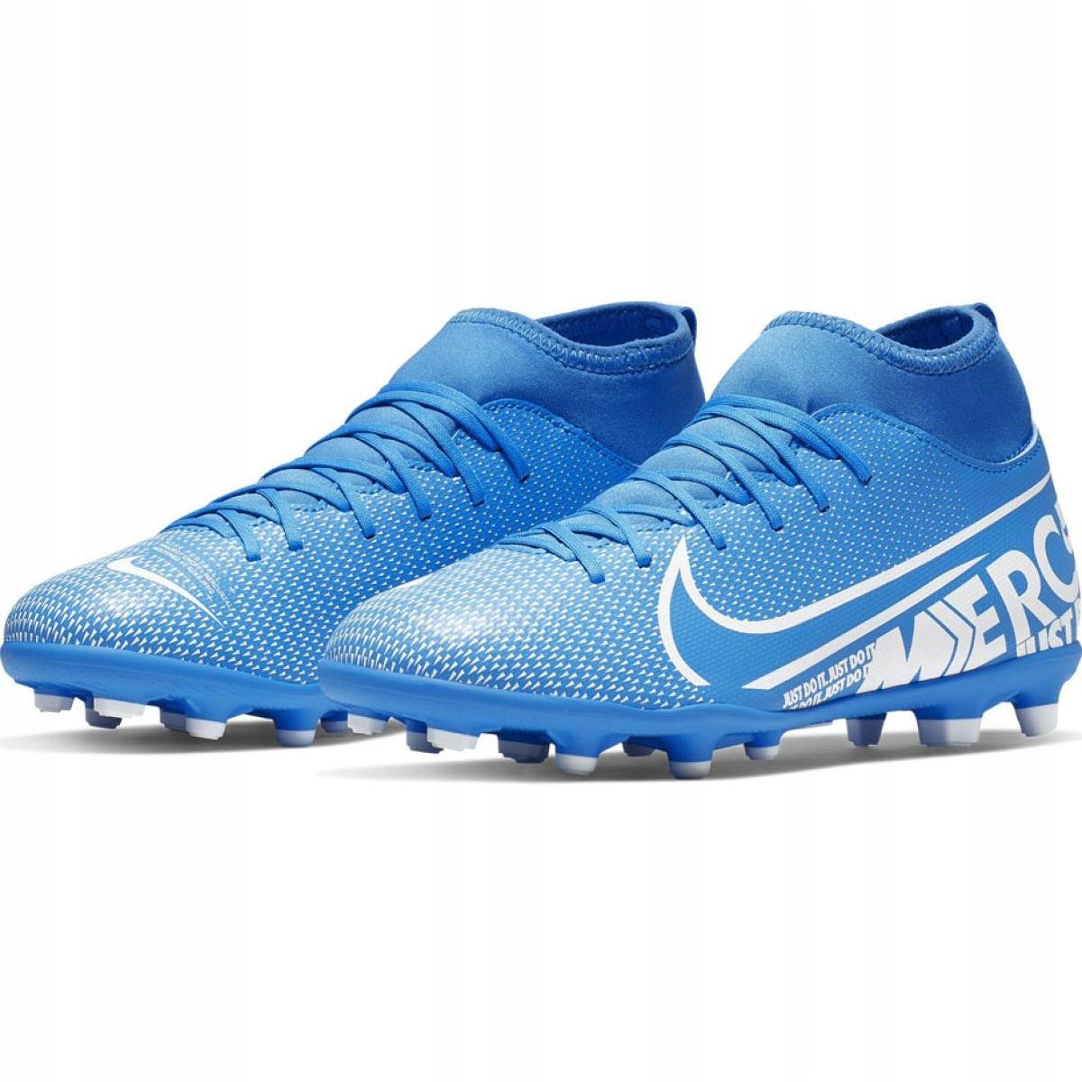 newest 0425c 2acf7 Football shoes Nike Mercurial Superfly 7 Club FG / MG Jr AT8150-414