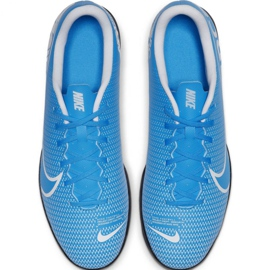 Football shoes Nike Mercurial Vapor 13 Club Ic M AT7997 414 blue 2