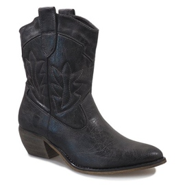 Gray cowgirl boots 10601-1 grey 1